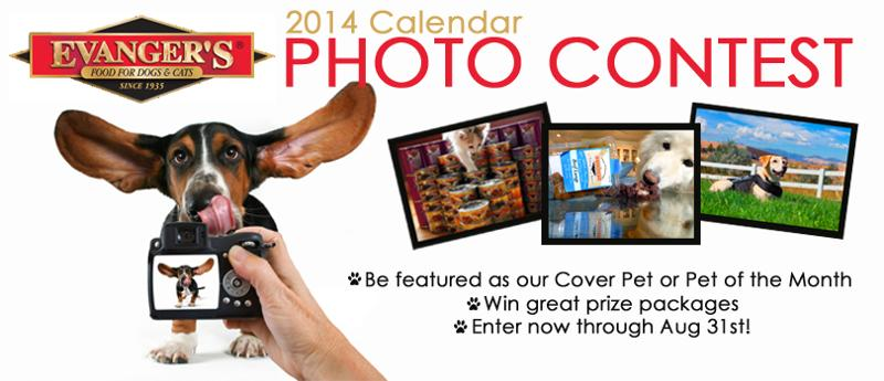 Evanger's Pet Photo Contest looks for cover models for 2014