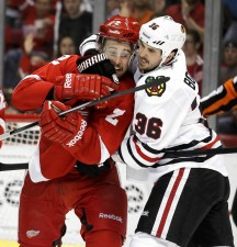 Red Wings take series lead with 3-1 win over Hawks