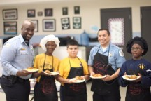 Bella Cuisine Kids Cooking Club partners with Chicago firefighters, police and local chefs to host battle of the badges