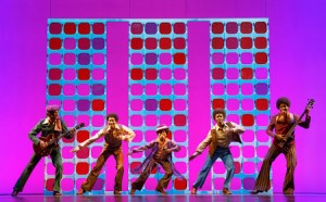 The Jackson 5 light up the stage in Motown The Musical