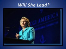 Being Called-in when the Ship is sinking:   Hillary 2016
