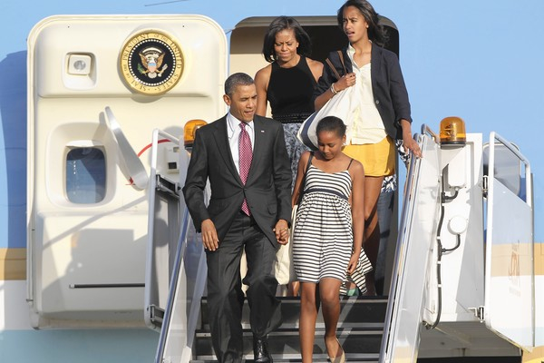 The Obama's have deep roots in Chicago. Photo: John Byrne, Chicago Tribune reporter, June 16, 2012