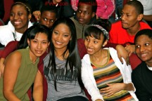 Keke Palmer Supports Potential of Us Campaign at Corliss H.S.
