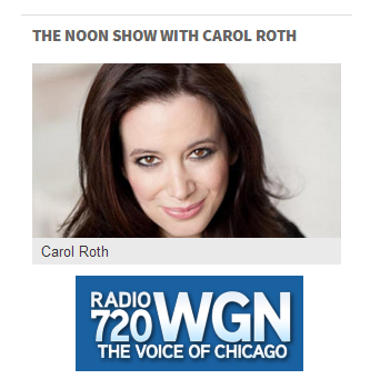 The Noon Show with Carol Roth on WGN radio