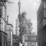 Statue of Liberty During Construction in France