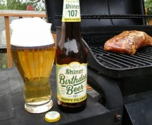 Beer by the Grill: Shiner 107th Birthday Beer