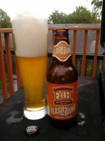 Craft Beer Review: Excel Brewing Flash Bang Hoppy American Wheat
