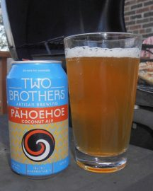 Beer by the Grill: Two Brothers Pahoehoe Coconut Ale