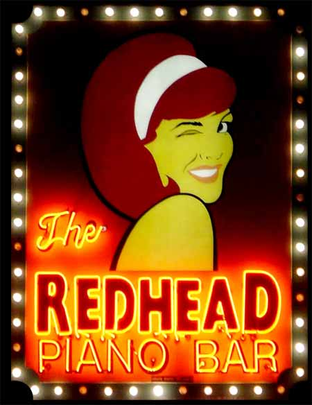The Redhead Piano Bar Shuts Down my Free Drink Request