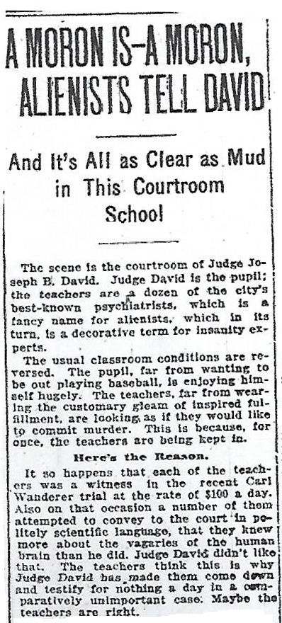 April 22, 1921 Chicago Daily News