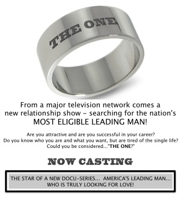 WANTED: America's Most Eligible Leading Man... Are You Him?