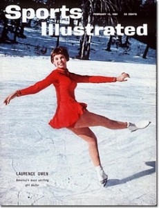 Laurence Owen's Sports Illustrated cover, published two days before her death