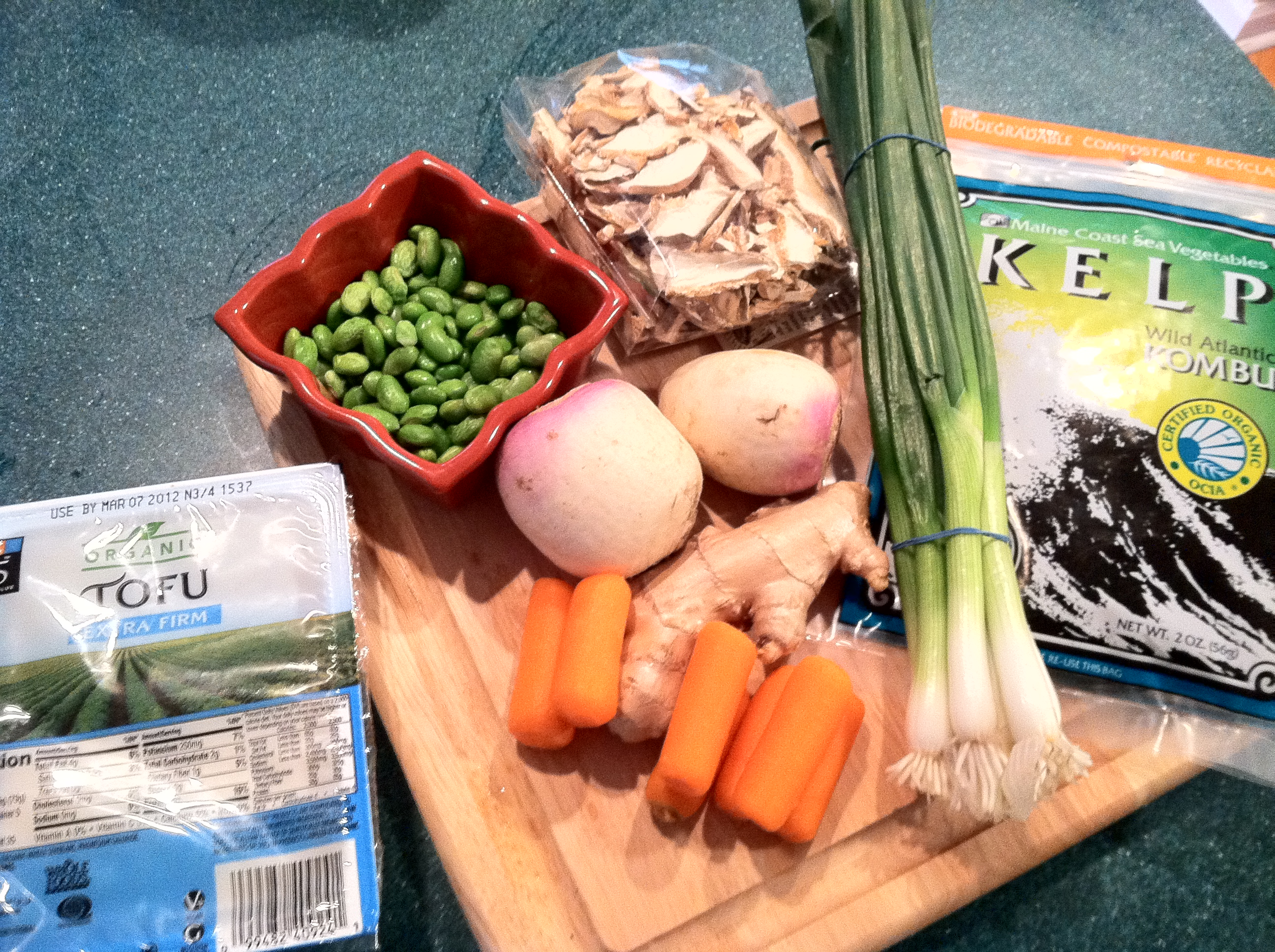 Meatless Monday: Loaded Miso Soup