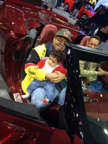 My Son's First Trip To The Chicago Auto Show