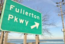 (Hugh) Fullerton Parkway is named for the sportswriter who helped Cub Hall-of-Famer Johnny Evers write two books: Touching Second, and a kids' book named Baseball in the Big Leagues. Evers is the Cub second baseman who called for the ball when Fred Merkle failed to touch second, paving the way for the last, to date, Cubs World Series win in 1908. Fullerton is also well known for being a key figure in the uncovering of the Black Sox scandal of 1919, but what of that?