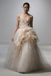 A Glimpse of Vera Wang's 2011 Spring Bridal Collection