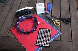 Bring on the red, white and blue: getting crafty for the 4th of July