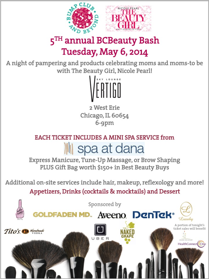 The 5th Annual BCBeauty Bash for moms and moms-to-be