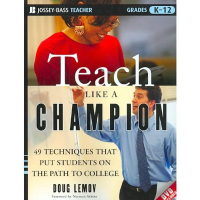 Back to school tip: don't teach like a champion