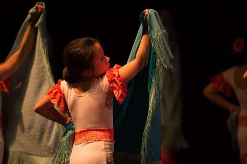 I hope dancing flamenco gives my daughter a lifetime of confidence