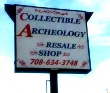 Collectible Archeology in Burbank, IL. A store of many items for different collectors