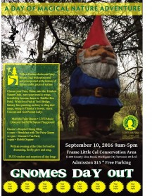"""Gnomes Day Out"" -- a fairy festival. Event partners and sponsorship for Izaak Walton League of America-Porter County Chapter event."
