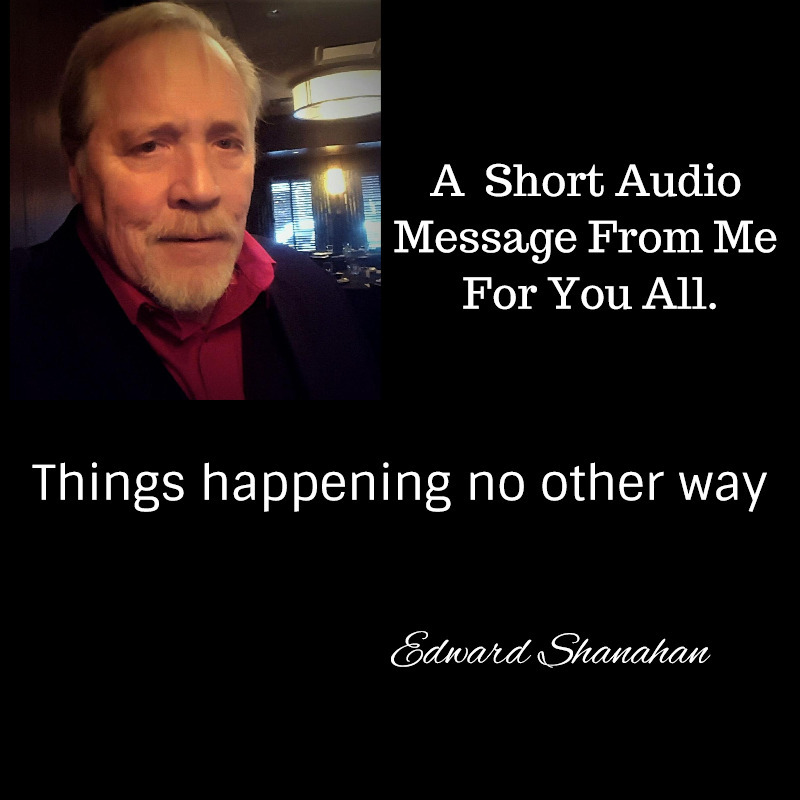 Short audio video - Things happening no other way.