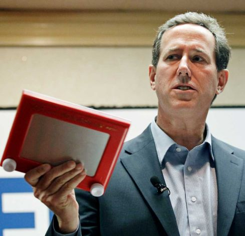 Tales from the couch: Quick hits for August 27, 2012—Did Rick Santorum lose the White House for the GOP back in March?